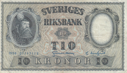 Image #1 of 10 Kronor 1956 - 1