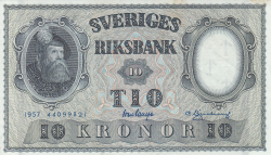 Image #1 of 10 Kronor 1957 - 3