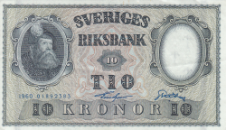 Image #1 of 10 Kronor 1960 - 2