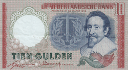 Image #1 of 10 Gulden 1953 (23. III.) - replacement