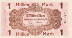 Image #1 of 1 Million (1 000 000) Mark 1923 (1. X.)