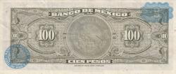 Image #2 of 100 Pesos 1973 (18. VII.) - Serie BXT