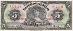 Image #1 of 5 Pesos 1961 (8. XI.)