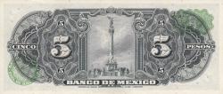 Image #2 of 5 Pesos 1961 (8. XI.)
