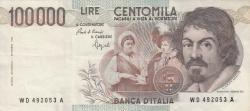 Image #1 of 100,000 Lire 1983 (1. IX.) - signatures Carlo Azeglio Ciampi / Fortunato Speziali