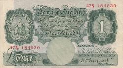 Image #1 of 1 Pound ND (1934-1939)