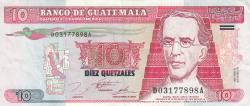 Imaginea #1 a 10 Quetzales 1995 (16. VI.)