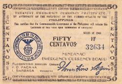 Image #1 of 50 Centavos 1943