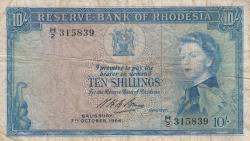Imaginea #1 a 10 Shillings 1964 (7. X.)