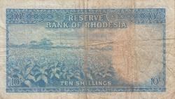 Imaginea #2 a 10 Shillings 1964 (7. X.)