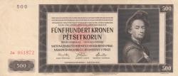 Imaginea #1 a 500 Korun 1942 (24. II.)