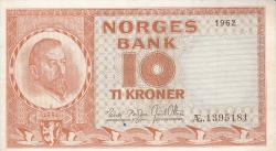 Image #1 of 10 Kroner 1962