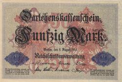 50 Mark 1914 (5. VIII.)