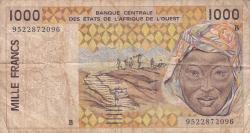 Image #1 of 1000 Francs (19)95