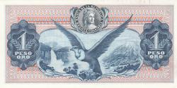 Imaginea #2 a 1 Peso Oro 1972 (20. VII.)