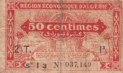 Image #1 of 50 Centimes L.1944