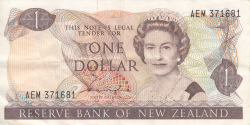 Image #1 of 1 Dollar ND (1981-1985)