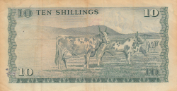 Image #2 of 10 Shillings 1977 (1. VII.)