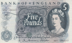 Image #1 of 5 Pounds ND (1963 - 1966)