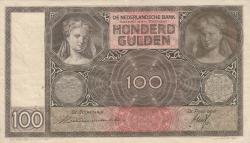 Image #1 of 100 Gulden 1935 (2. VII.)