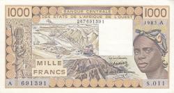 Image #1 of 1000 Francs 1985