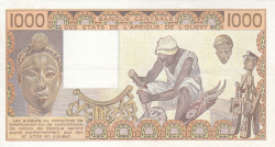 Image #2 of 1000 Francs 1985