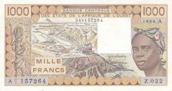 Image #1 of 1000 Francs 1990