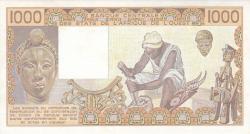 Image #2 of 1000 Francs 1990