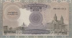 Image #2 of 20 Gulden 1941 (19. III.)