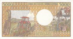 5000 Franci ND (1984-1991) - 2