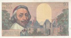 Imaginea #2 a 10 Franci Noi (Nouveaux Francs) 1962 (4. X.)