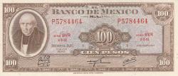 Image #1 of 100 Pesos 1973 (18. VII.) - Serie BVR