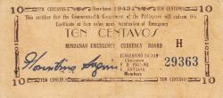 Image #1 of 10 Centavos 1943