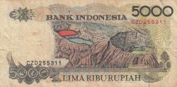 5000 Rupiah 1992/2000