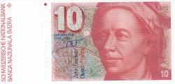 Image #1 of 10 Franken (19)82 - signatures Dr. Edmund Wyss / Dr. Markus Lusser (55)