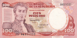 Image #1 of 100 Pesos Oro 1986 (12. X.)