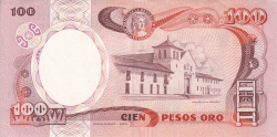 Image #2 of 100 Pesos Oro 1986 (12. X.)