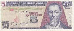 Image #1 of 5 Quetzales 2006 (22. XI.)