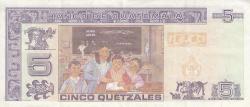 Image #2 of 5 Quetzales 2006 (22. XI.)