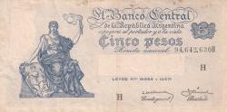 Image #1 of 5 Pesos ND (1951-1959)