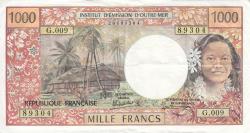 Image #1 of 1000 Francs ND (1985)