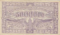 Image #2 of 5 Millionen (5 000 000) Mark 1923 (10. VIII.)