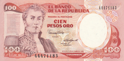 Image #1 of 100 Pesos Oro 1988 (12. X.)