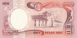 Image #2 of 100 Pesos Oro 1988 (12. X.)