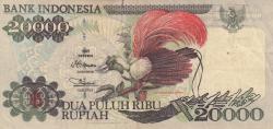 Image #1 of 20,000 Rupiah 1995/1996