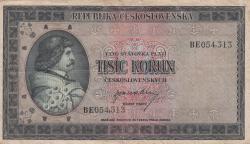 Imaginea #1 a 1000 Korun ND (1945)
