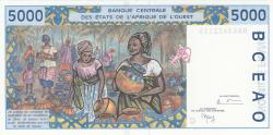 Imaginea #2 a 5000 Francs (19)98