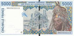 Imaginea #1 a 5000 Francs (19)98