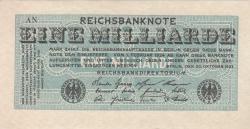 Image #1 of 1 Milliarde (1 000 000 000) Mark 1923 (20. X.) - 2