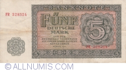 Image #1 of 5 Deutsche Mark 1955